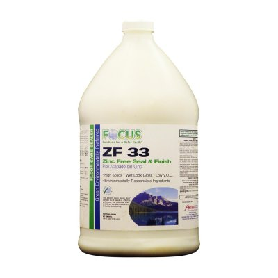 Zf 33 Floor Finish And Sealer