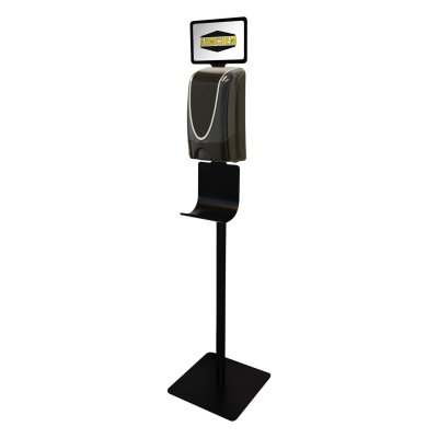 Hands Free Foam Up Sanitizer Stand Only